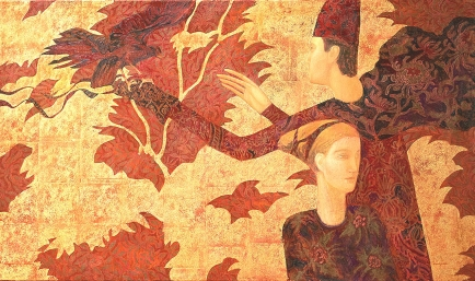 Autumn, 97X163cm, oil on canvas, september2016,normandie copy